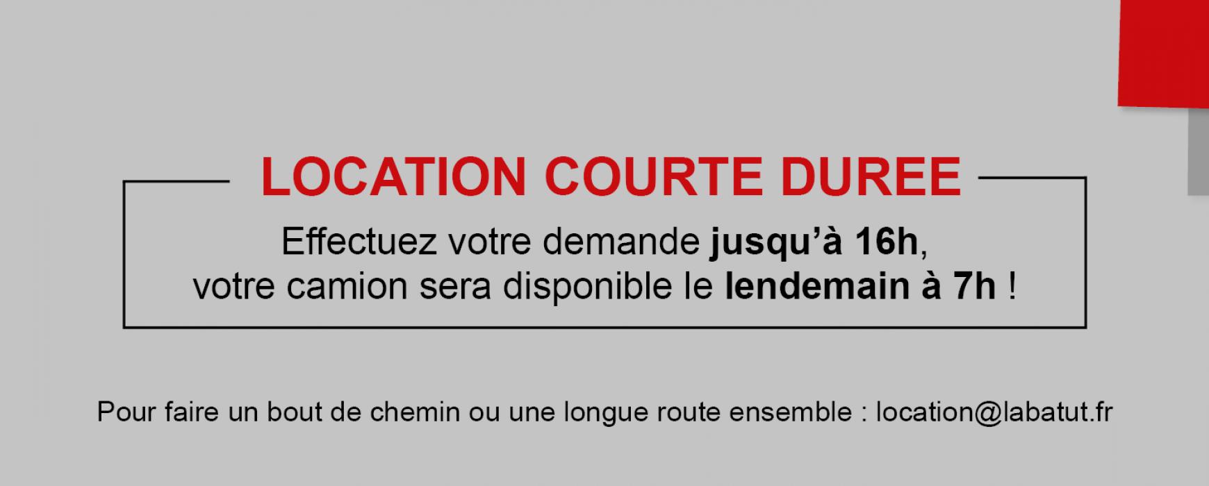 Location courte durée de véhicules industriels avec conducteurs – Ile-de-France